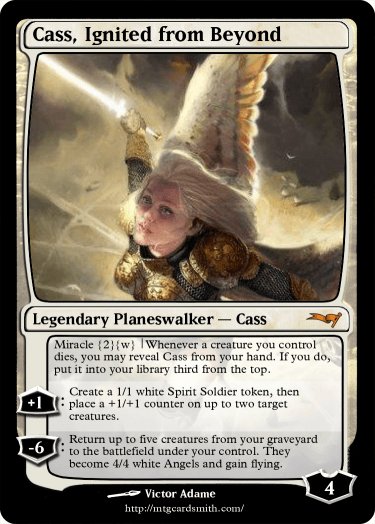 Cass, Ignited from Beyond