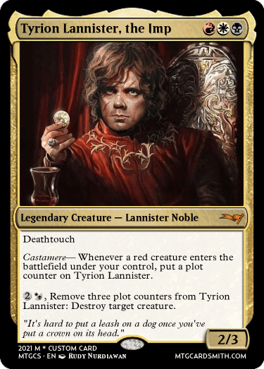 Tyrion Lannister, the Imp