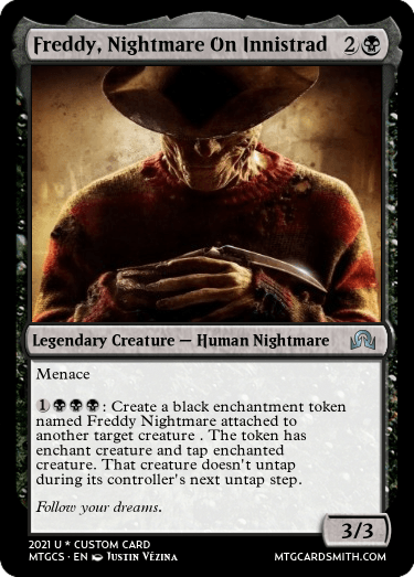 Freddy, Nightmare On Innistrad