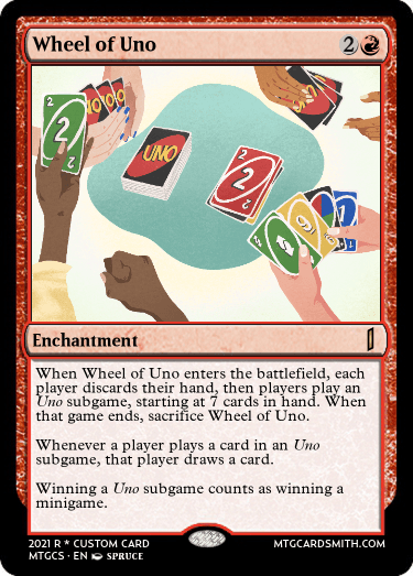 Wheel of Uno