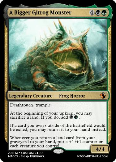 A Bigger Gitrog Monster