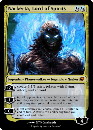 Narkerta, Lord of Spirits