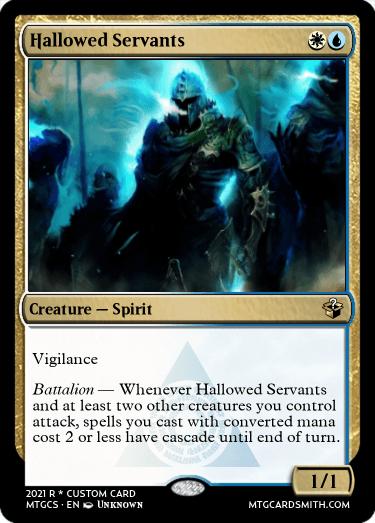 Hallowed Servants