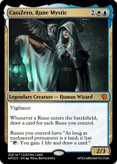 CassZero Rune Mystic