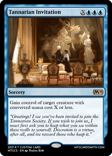 Tannarian Invitation