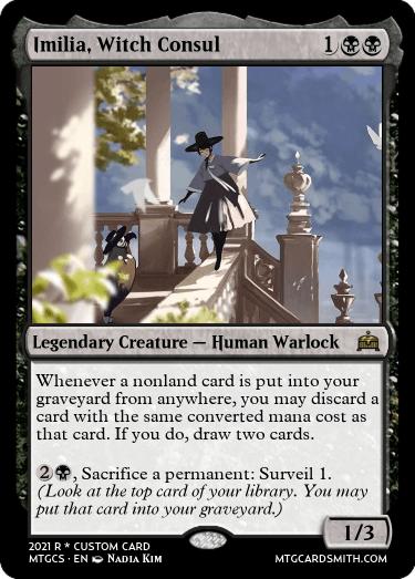 Imilia Witch Consul