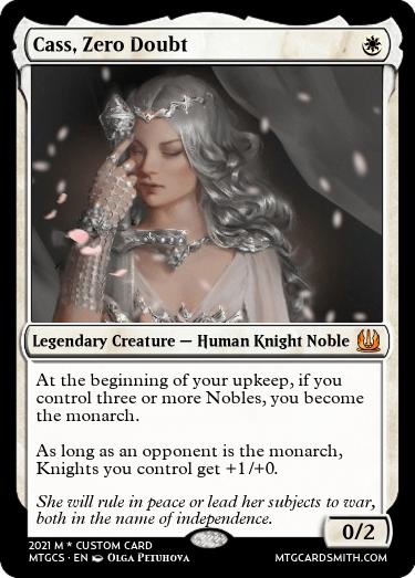 Cass Zero Doubt