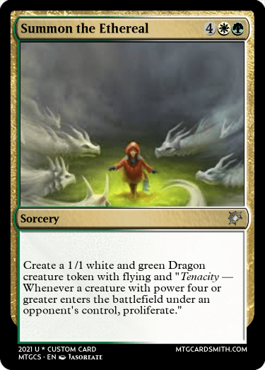 Summon the Ethereal