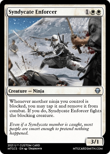 Syndycate Enforcer