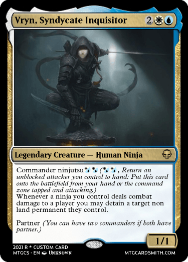 Vryn, Syndycate Inquisitor