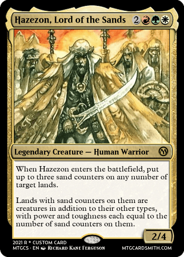 Hazezon Lord of the Sands