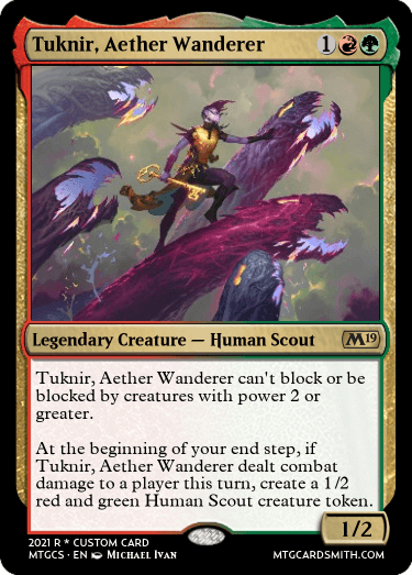 Tuknir Aether Wanderer