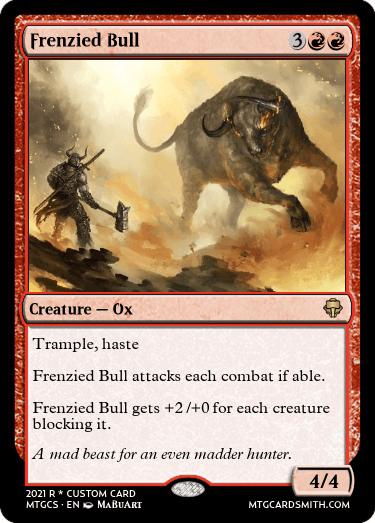Frenzied Bull