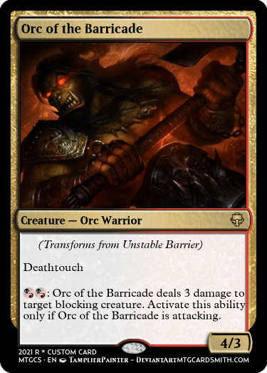 Orc of the Barricade
