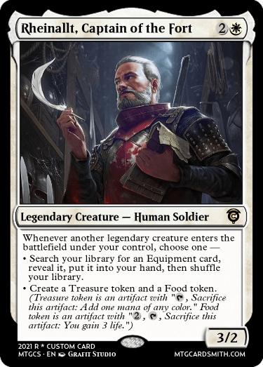 Rheinallt Captain of the Fort