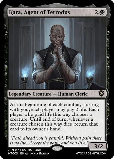 Kara Agent of Terrodus