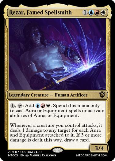 Rezar Famed Spellsmith