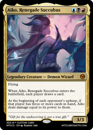 Aiko Renegade Succubus