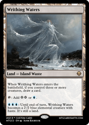 Writhing Waters