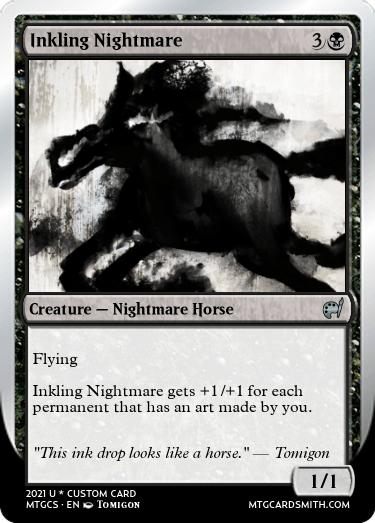 Inkling Nightmare