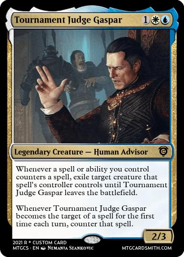 Tournament Judge Gaspar