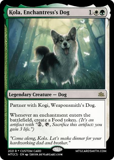 Kola Enchantresss Dog