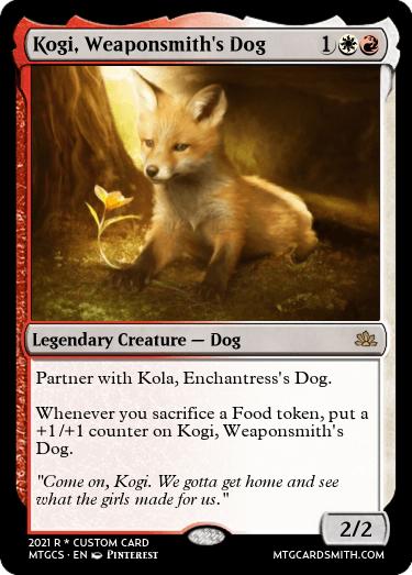 Kogi Weaponsmiths Dog