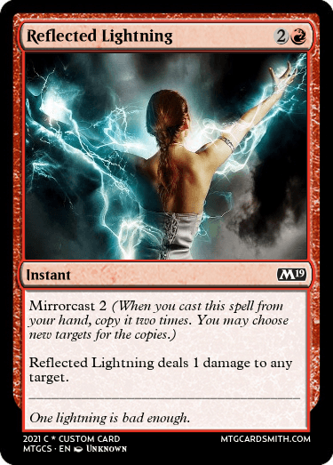 Reflected Lightning