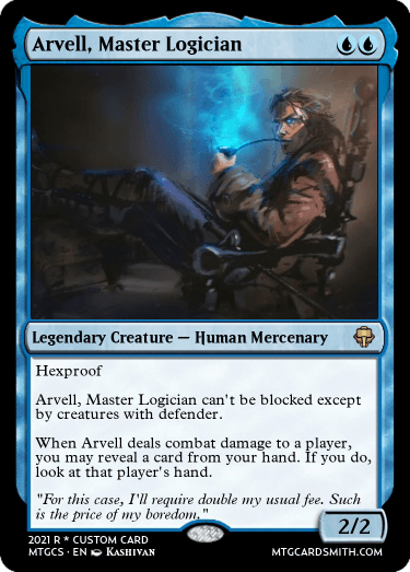 Arvell Master Logician