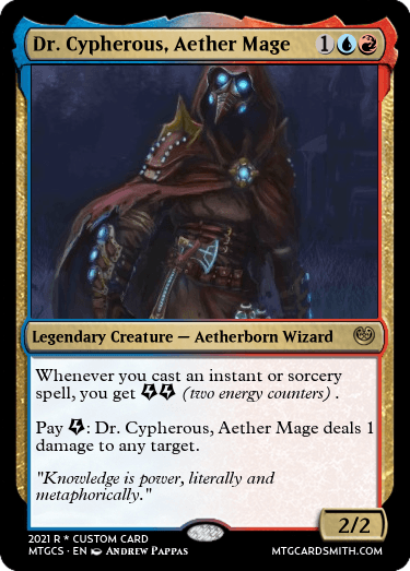 Dr Cypherous Aether Mage