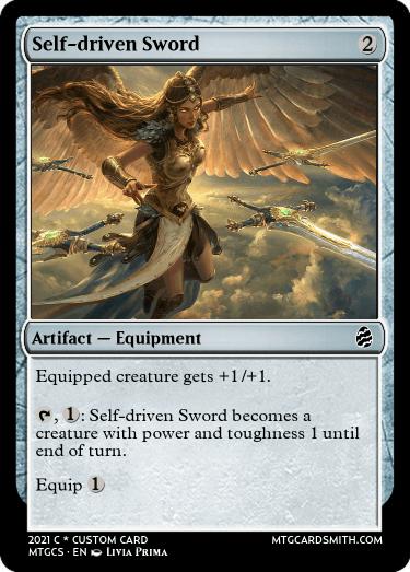 Self-driven Sword