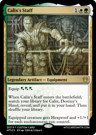 Calixs Staff