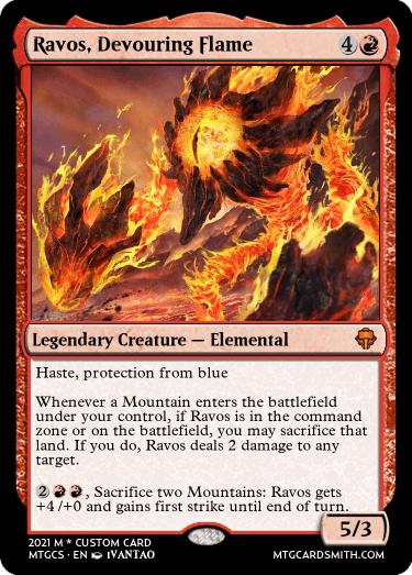 Ravos Devouring Flame