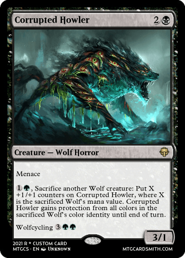 Corrupted Howler