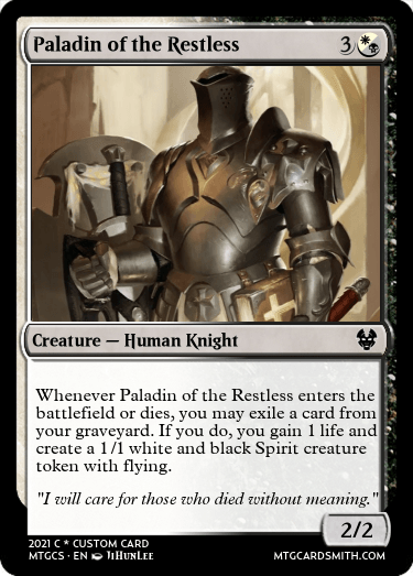 Paladin of the Restless