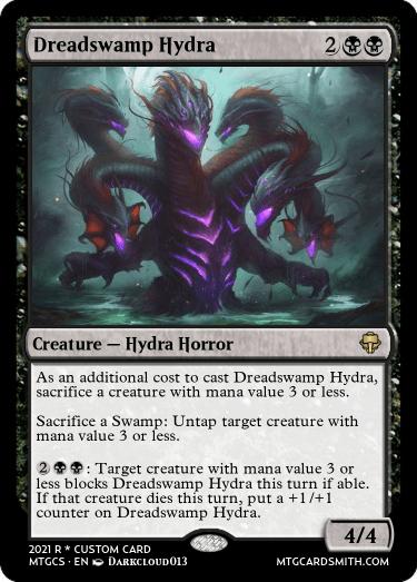 Dreadswamp Hydra