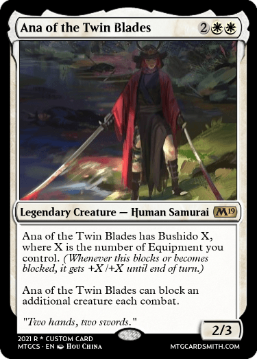 Ana of the Twin Blades
