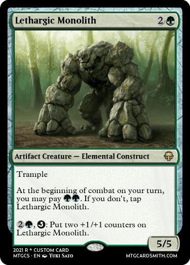 Lethargic Monolith