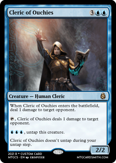 Cleric of Ouchies