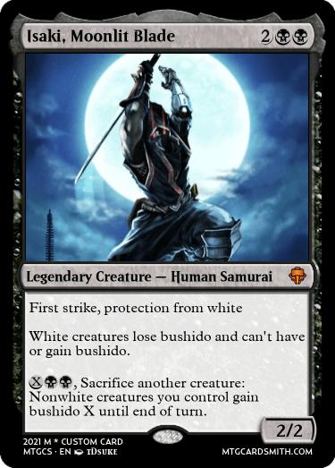 Isaki, Moonlit Blade