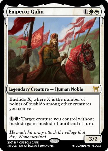 Emperor Galin