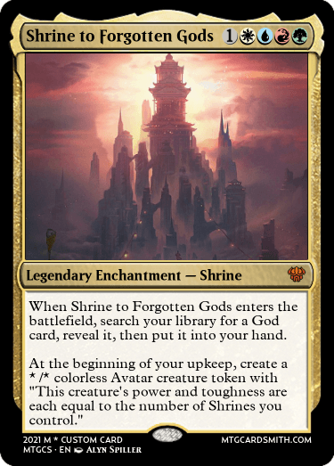 Shrine to Forgotten Gods