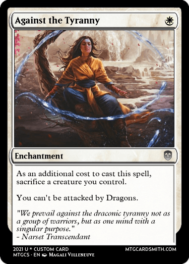 Against the Tyranny