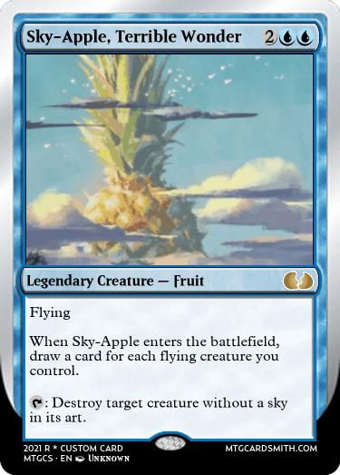 Sky-Apple Terrible Wonder