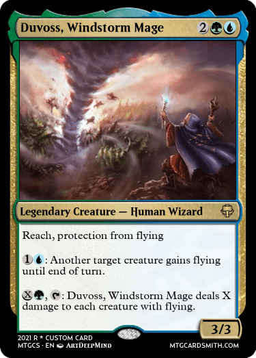 Duvoss Windstorm Mage