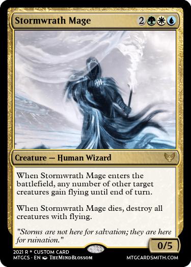 Stormwrath Mage