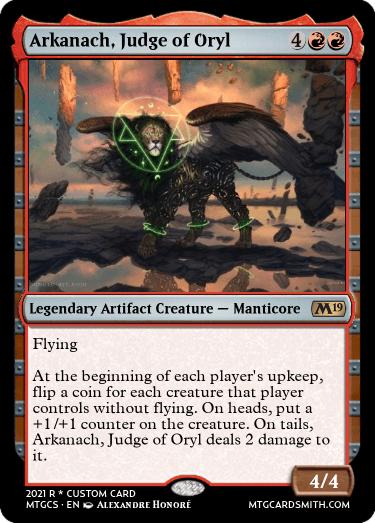 Arkanach, Judge of Oryl