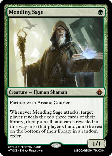 Mending Sage