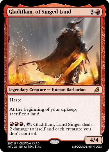 Gladiflam of Singed Land