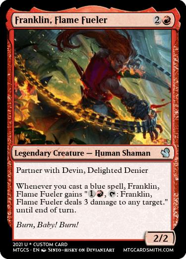Franklin Flame Fueler